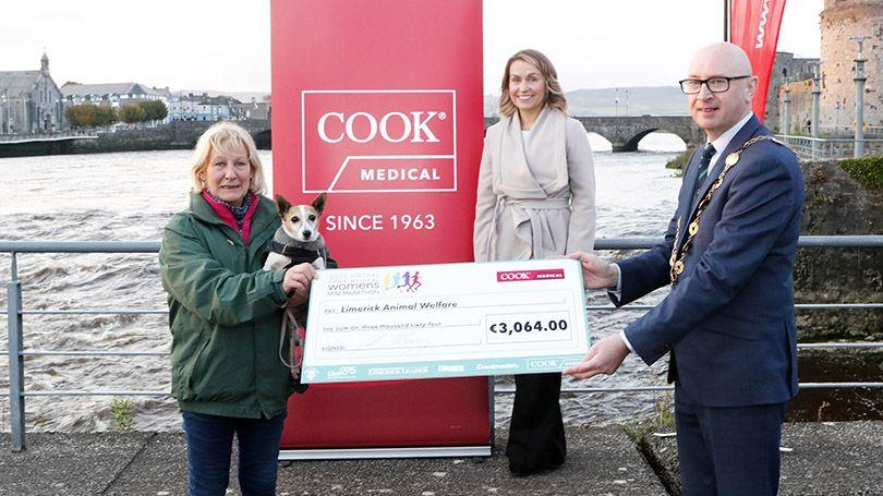 COOK Medical Presentations - Limerick Animal Welfare (Pic Liam Burke-Press 22)