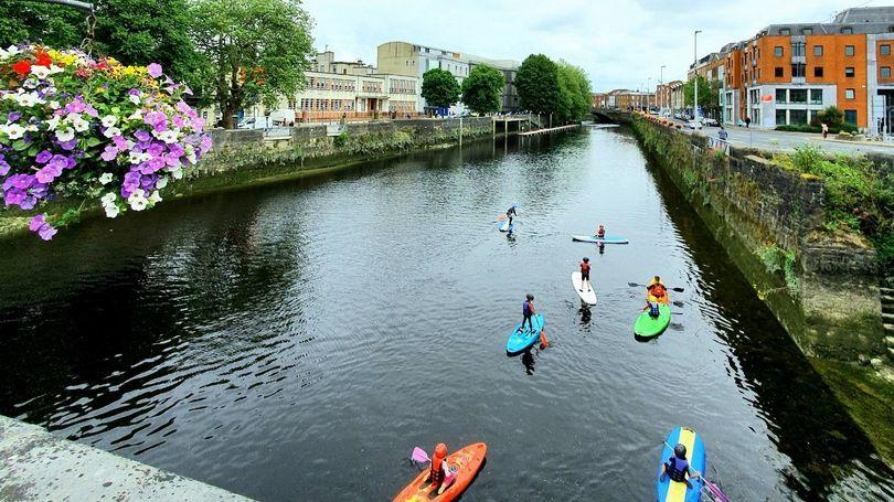 Limerick Watersports Camps for kids and teens at Nevsail