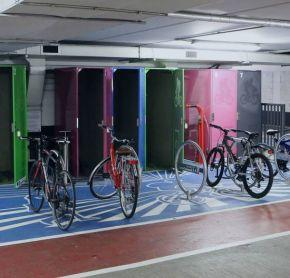 Bicycle Lockers Pic Brian Gavin Press 22