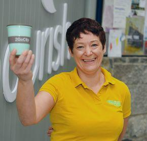 2GoCup Waste Prevention Initiative (Pic Diarmuid Greene)