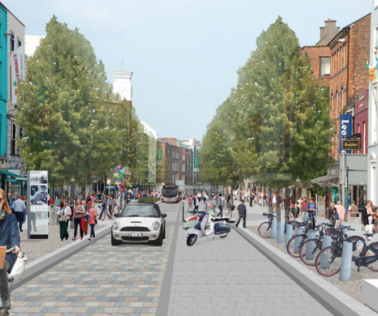 Limerick Urban Centre Revitalisation - O'Connell Street
