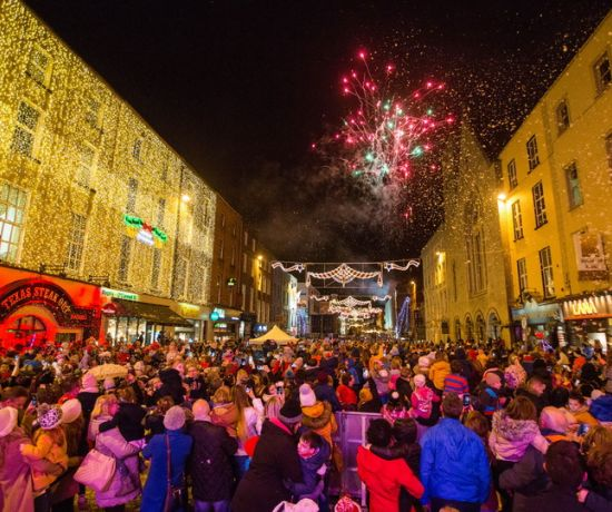 Light Up Limerick for Christmas. Picture: Sean Curtin | True Media