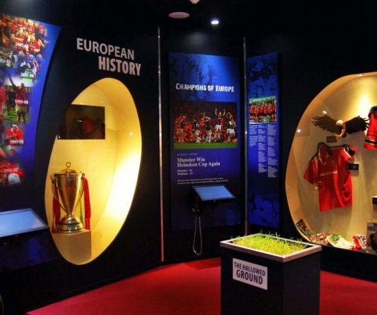 Thomond Park Museum & Stadium Tours