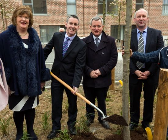 Churchfield Development Minister Visit