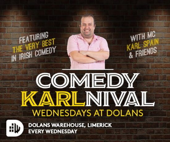 Karl Spain - Karlnival at Dolans Warehouse