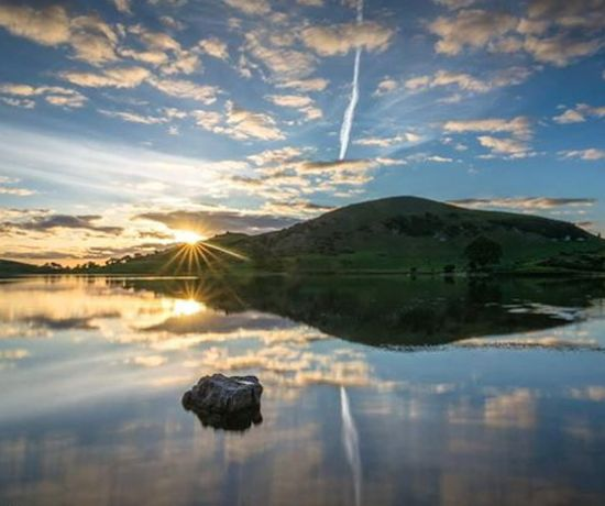 Lough Gur sunrise Pic by Liam Mcnamara