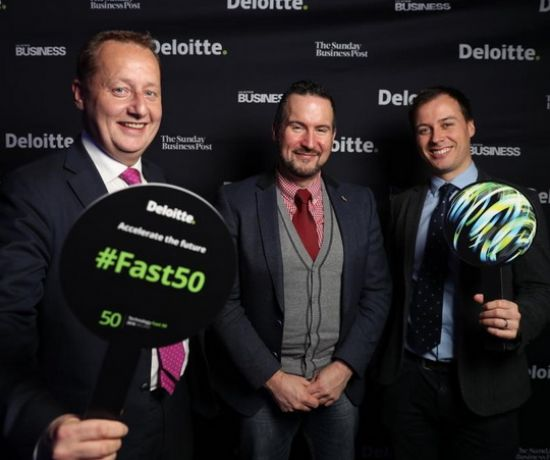 DesignPro at Deloitte Technology Fast 50 Awards