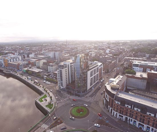 Limerick City taken from above