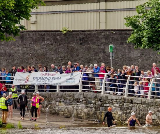 Thomond Swim River Start - Pat Browne