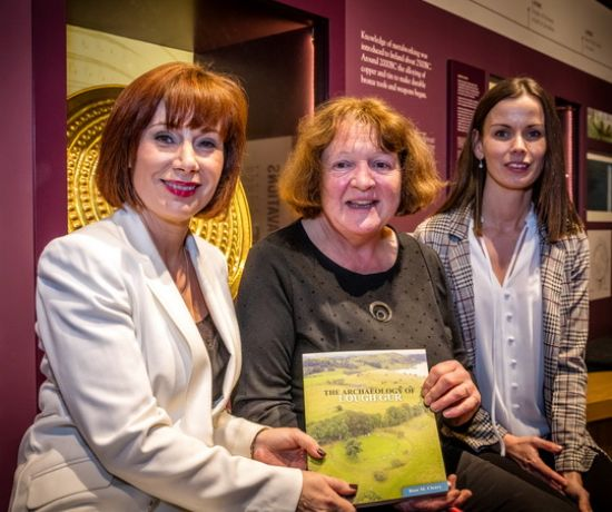 Book Launch Lough Gur Minister Madigan - Pic:Keith Wiseman