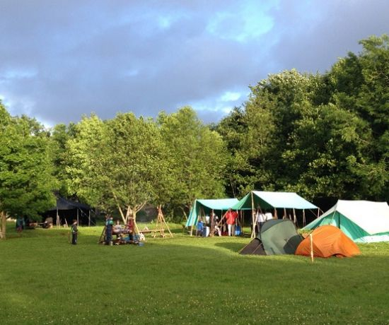 Castleconnell campsite 26th Scout Group Limerick