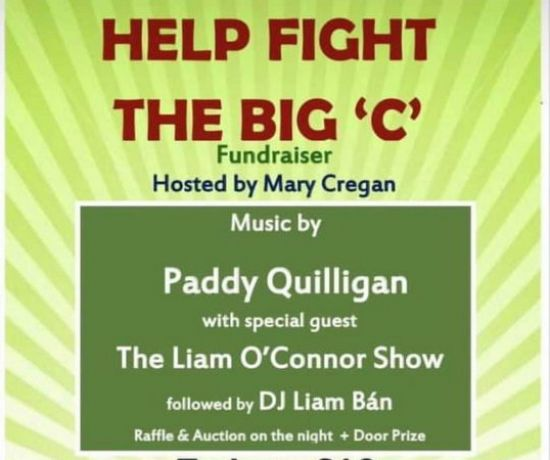 Help Fight The Big 'C' Fundraiser