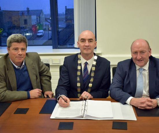 Lisheen Park Contracts - new development in Patrickswell
