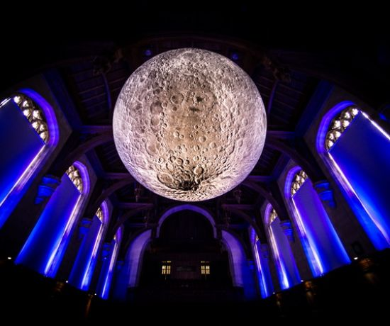 Museum of the Moon at University of Bristol, UK credit Simon Galloway, Picture Editor, SWNS1 540x450