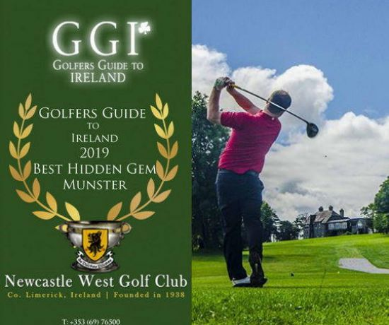 NCW Golf Club voted Best Hidden Gem in Munster