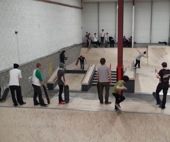 Raw Cycles Skatepark