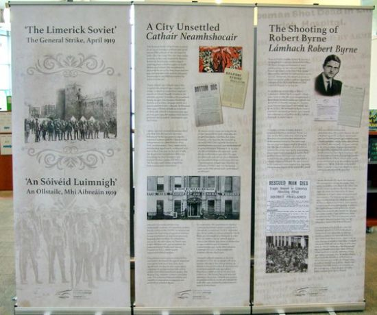 Limerick Soviet at Watch House Cross Library