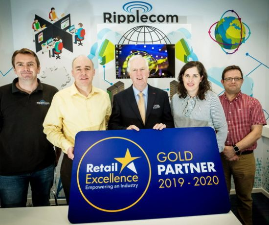 Ripplecom gold partnership with Retail Excellence Ireland