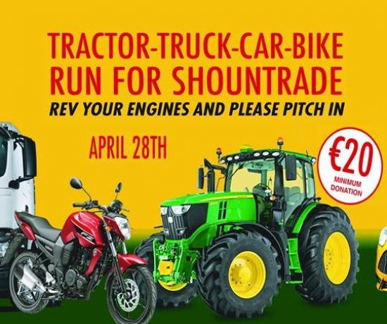 Tractor Run for Shountrade