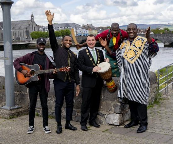 Africa Day Launch Pic: Don Moloney