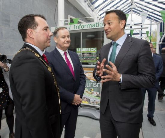 Cork Limerick M20 Project Ireland 2040 - Taoiseach Leo Varadkar