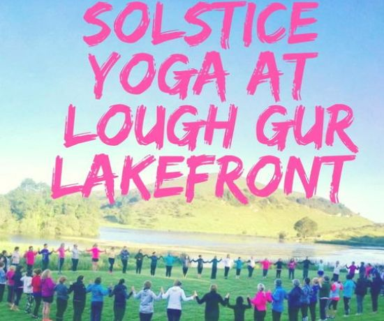 Solstice Yoga at Lough Gur Lakefront