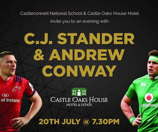 An evening with C.J. Stander and Andrew Conway