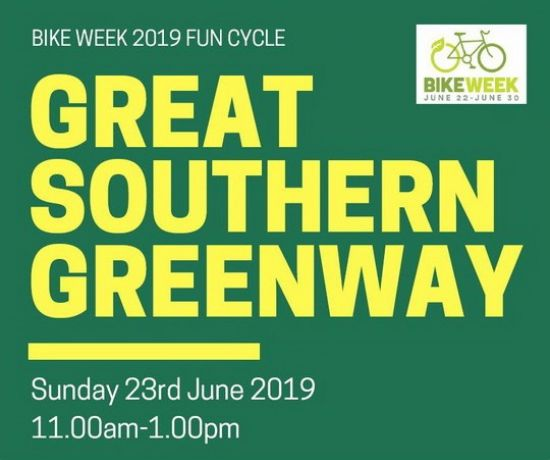 Great Southern Greenway Fun Cycle - Bike Week 2019