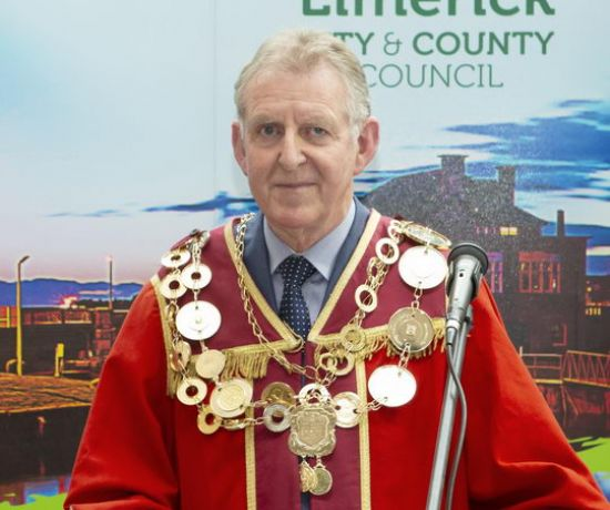 New Mayor of Limerick City and County Cllr Michael Sheahan 2019 Pic Liam Burke