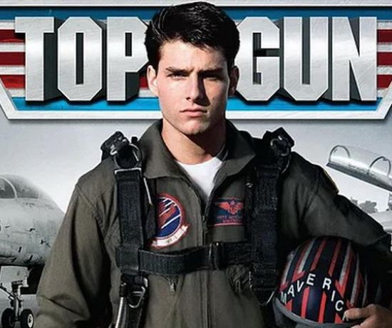 Top Gun Drive in movie