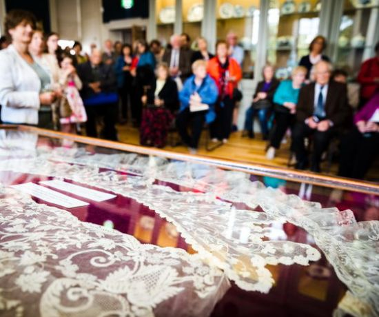 Limerick Lace Collection at Limerick Museum (Pic: Keith Wiseman)