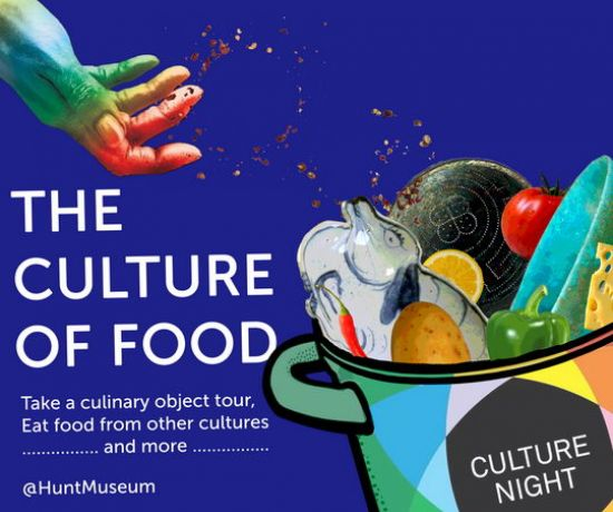 Culture night @ The Hunt Museum: The Culture of Food