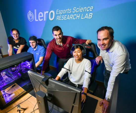LERO esports science research lab Pic Diarmuid Greene True Media