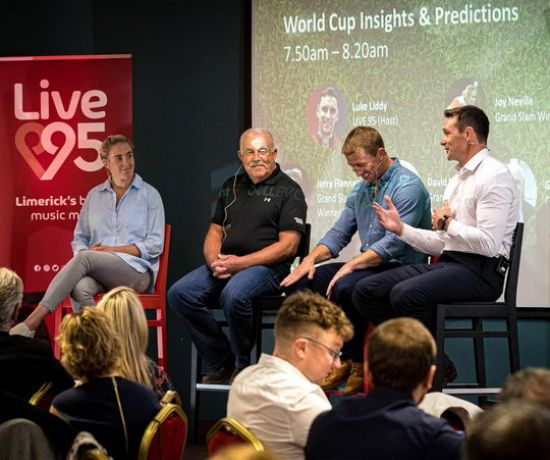 World Cup Warm-up event in Thomond Park