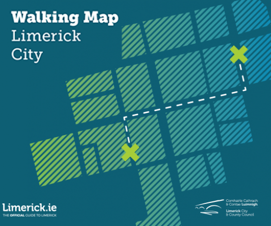 Limerick City Walking Map