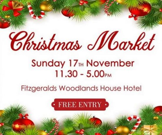 Christmas Market at Fitzgeralds Woodlands House Hotel