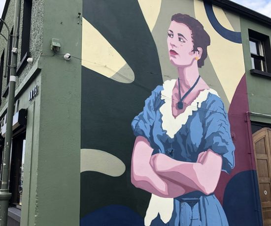Constance Smith Mural, Nicholas Street