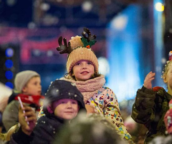 Light Up Limerick for Christmas. Photo: Oisin McHugh True Media