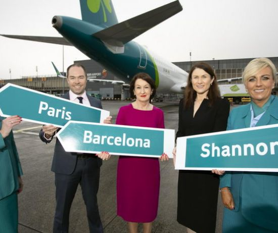 Shannon flights to Paris and Barcelona (Pic Arthur Ellis)