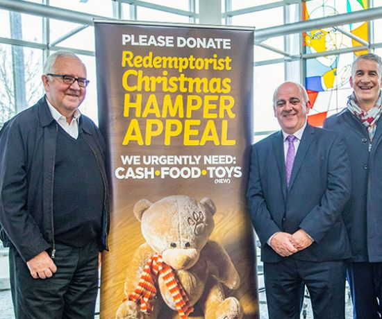 Redemptorist Christmas Hamper Appeal (Pic Sean Curtin)