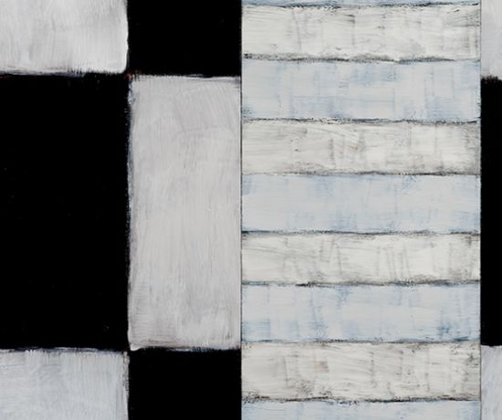 Passenger White White - Sean Scully - Belonging Exhibition