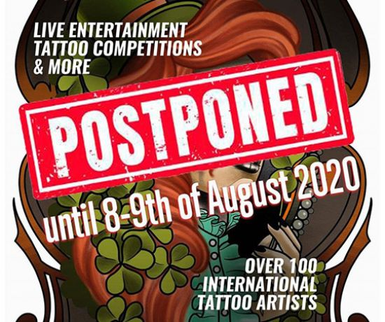 Limerick International Tattoo Convention 2020 Cancelled