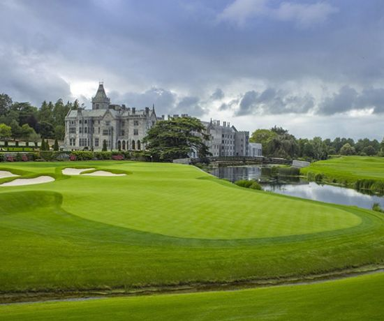 18th hole on The Golf Course at Adare Manor. (Pic LC Lambrecht)