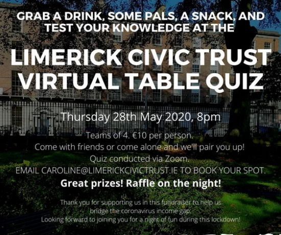 Limerick Civil Trust Table Quiz