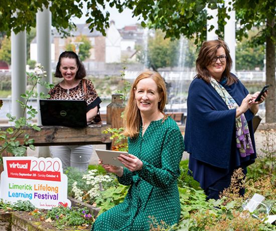 Limerick Lifelong Learning Festival launch (Pic: Alan Place)