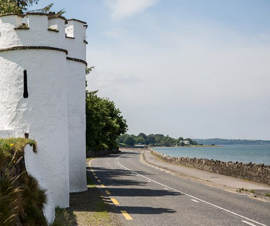 Turret of Glin Castle - Pic Alan Place