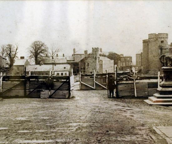 British Army checkpoint Thomond Bridge 1919