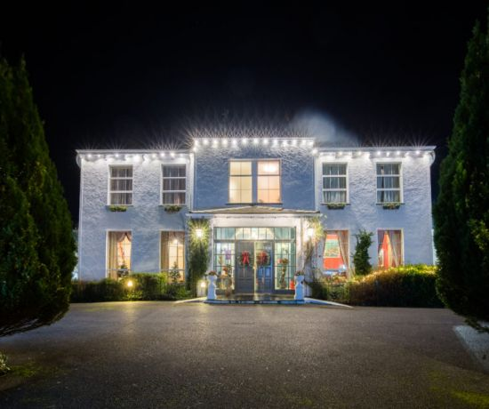 Christmas at the Castle Oaks House Hotel, Limerick