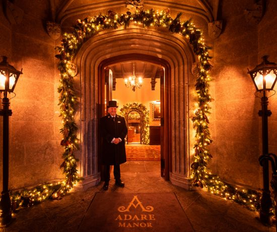 Christmas at Adare Manor Limerick