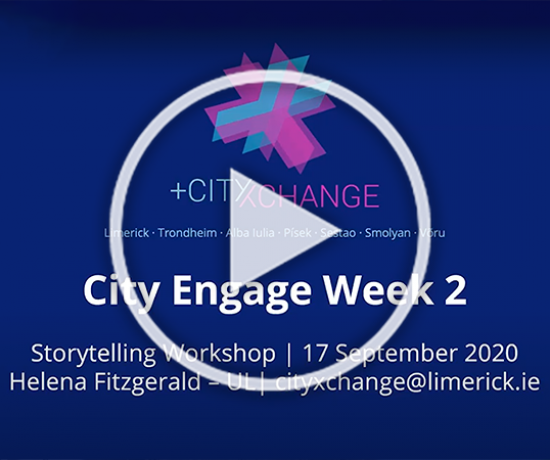 City Engage Storytelling workshop